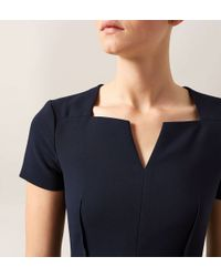 Hobbs | Blue Montgomery Dress | Lyst