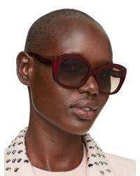 kate spade new york - Purple Jakalyn Sunglasses - Lyst