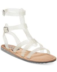 Circus by Sam Edelman | White Selma Gladiator Sandals | Lyst
