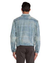 J Brand - Blue Lowell Trucker Jacket for Men - Lyst