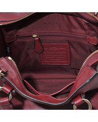 COACH - Pink Mini Crosby Carryall - Lyst