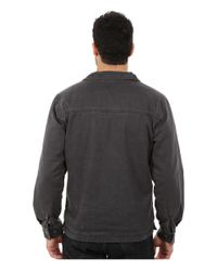 Woolrich | Black Dorrington Shirt Jacket for Men | Lyst