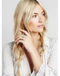 Free People - Metallic Lhn Jewelry Womens Keat's Signet Ring - Lyst