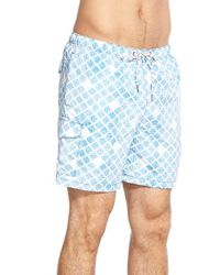Tommy Bahama - Blue 'naples - Shell Of A Good Time' Swim Trunks for Men - Lyst