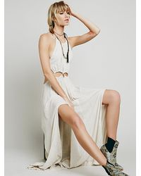 Free People - White Endless Summer Womens Dare To Bare Maxi - Lyst