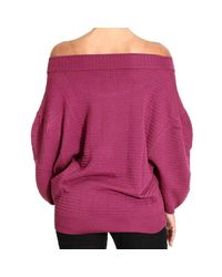M Missoni - Purple Women's Sweater - Lyst