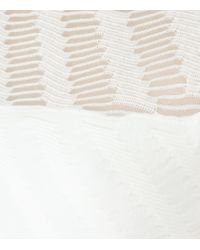 Reiss | White Bryton Knitted Bodycon Dress | Lyst