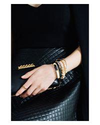 Henri Bendel   Metallic Luxe Tennis Bracelet   Lyst