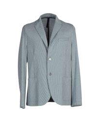 Harris Wharf London - Blue Blazer for Men - Lyst
