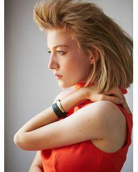Free People - Black Luiny Womens Flawed Wrap Bracelet - Lyst