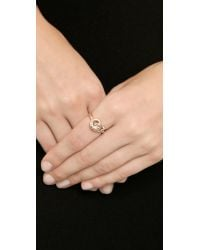 Giles & Brother - Metallic Archer Ring - Rose Gold - Lyst