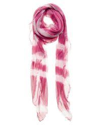 Mangrove - Pink 'Bling' Scarf - Purple - Lyst