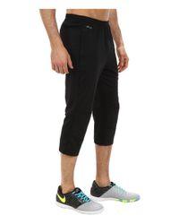 Nike - Black Squad Attack 3/4 Tech Pant Wp for Men - Lyst