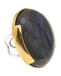 Beth Orduna - Metallic Labradorite Ring - Lyst