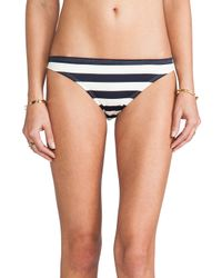 Juicy Couture | Blue Boho Stripe Bottoms | Lyst