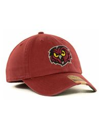 47 Brand | Red Temple Owls Ncaa '47 Franchise Cap for Men | Lyst