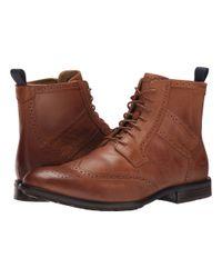 Sebago | Brown Dresden Wing Tip Boot for Men | Lyst