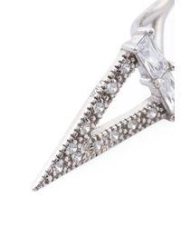 V Jewellery | Metallic 'elka' Earrings | Lyst
