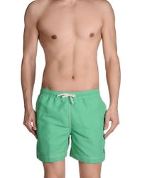 Timberland | Green Swimming Trunk for Men | Lyst