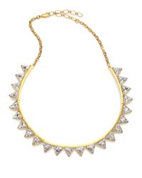 Ca&Lou | Metallic Suki Crystal Bib Necklace for Men | Lyst