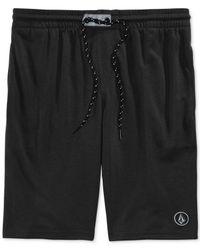 Volcom - Black Romer Athletic Shorts for Men - Lyst