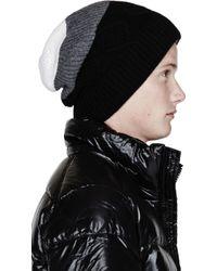 Kris Van Assche - Gray Grey Colorblocked Beanie for Men - Lyst