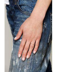 Nora Kogan | Metallic Loved Ring | Lyst