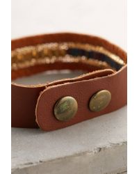 Anthropologie | Brown Caye Bracelet | Lyst