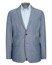 Ben Sherman   Blue Flecked Chambray Blazer for Men   Lyst
