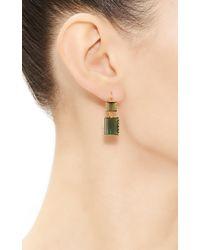 Renee Lewis | Green One Of A Kind Alternating Chrome Tourmaline Earrings | Lyst