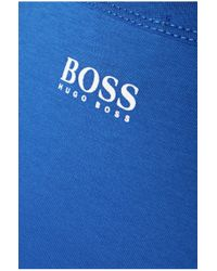 BOSS Green | Blue 'tee 1' | Cotton Graphic Logo T-shirt for Men | Lyst