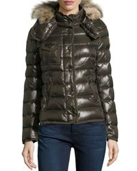 Moncler   Green Armco Celsie Puffer   Lyst