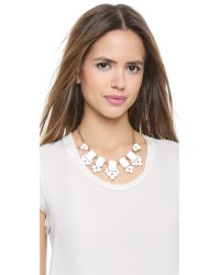 kate spade new york | Daylight Jewels Necklace - White | Lyst