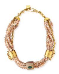 Ashley Pittman | Multicolor Mchanga Multi-strand Beaded Necklace | Lyst