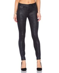Level 99 | Black Janice Mid Rise Ultra Skinny | Lyst