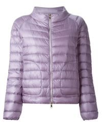 Moncler - Pink Delaage Quilted Jacket - Lyst