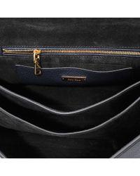 Miu Miu | Black Madras Top Handle Bag | Lyst