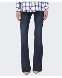 PAIGE - Blue High Rise Bell Canyon Jeans - Lyst