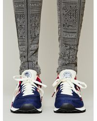 Free People - Blue Upsider Hi Top Sneaker - Lyst