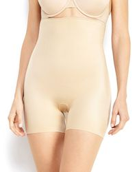 Spanx | Natural Simplicity High-Waist Girl Shorts | Lyst
