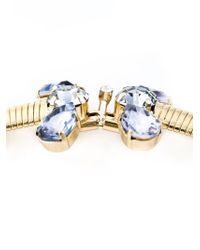 DSquared² - Metallic Embellished Necklace - Lyst