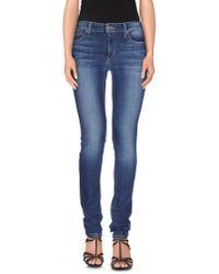 Joe's Jeans | Blue Denim Trousers | Lyst