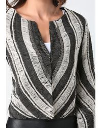 Bebe Multicolor Embroidered Beaded Jacket