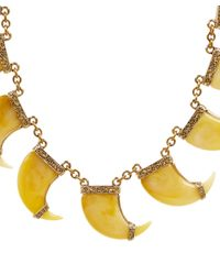 Lulu Frost - Metallic Gold-tone Cleo Multi Necklace - Lyst
