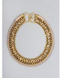 Lizzie Fortunato - Metallic La Belle Epoque Ii Necklace - Lyst