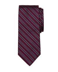 Brooks Brothers | Purple Textured Frame Stripe Tie for Men | Lyst