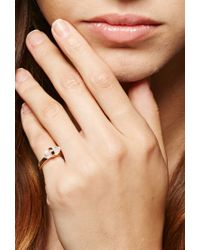 Forever 21 - Amber Sceats Crystal Pinky Ring - Lyst