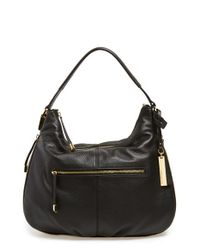 Vince Camuto | Black 'rina' Hobo | Lyst