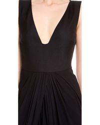 Giambattista Valli - Black Sleeveless Gown - Lyst