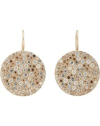 Roberto Marroni | Multi Diamond & Natural White Gold Musoni Earrings | Lyst